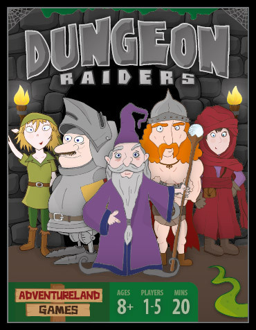 Dungeon Raiders. Image source: Adventureland Games