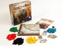 Ticket to Ride is published by Days of Wonder