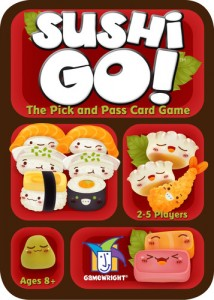 Sushi Go! box from Gamewright.com